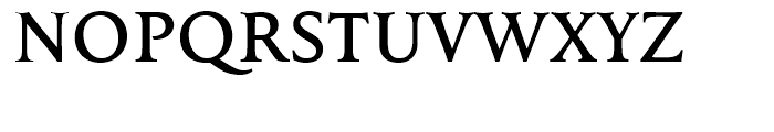 FF Tibere Medium Font UPPERCASE