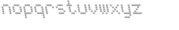 FF Ticket Negativ Regular Font LOWERCASE