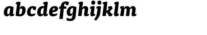 FF Tisa Extra Bold Italic Font LOWERCASE