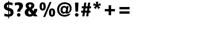 FF Transit Black Font OTHER CHARS