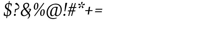 FF Tundra Light Italic Font OTHER CHARS