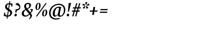 FF Tundra Medium Italic Font OTHER CHARS