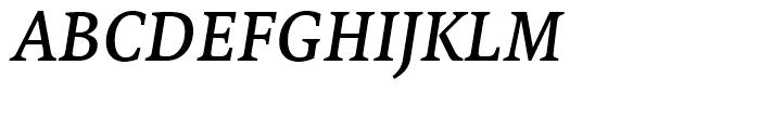 FF Tundra Medium Italic Font UPPERCASE