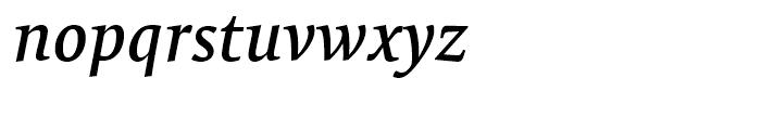 FF Tundra Medium Italic Font LOWERCASE
