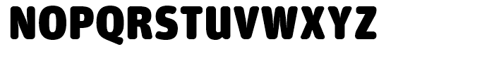 FF Unit Rounded Ultra Font UPPERCASE