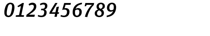 FF Unit Slab Medium Italic Font OTHER CHARS