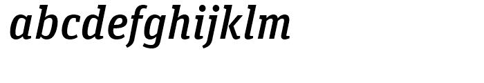 FF Unit Slab Medium Italic Font LOWERCASE