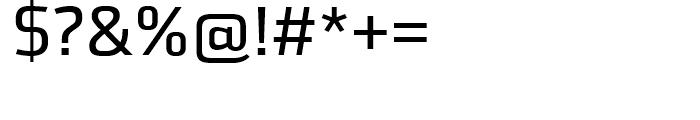 FF Utility Regular Font OTHER CHARS