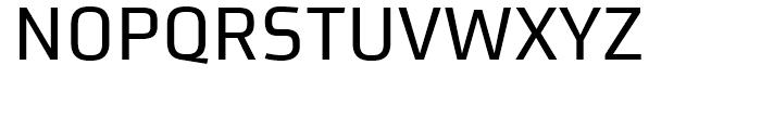 FF Utility Regular Font UPPERCASE