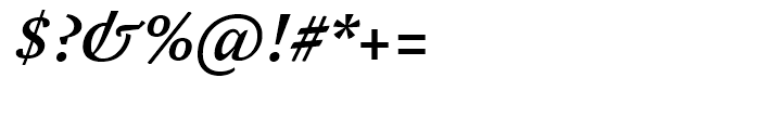 FF Yoga Medium Italic Font OTHER CHARS