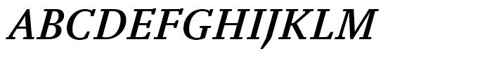 FF Yoga Medium Italic Font UPPERCASE