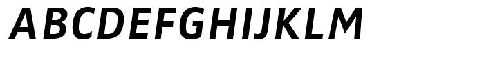 FF Zwo Correspondence Bold Italic Font UPPERCASE