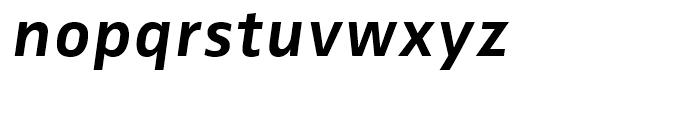 FF Zwo Correspondence Bold Italic Font LOWERCASE