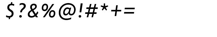 FF Zwo Correspondence Regular Italic Font OTHER CHARS