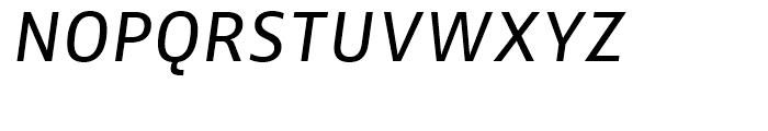 FF Zwo Correspondence Regular Italic Font UPPERCASE