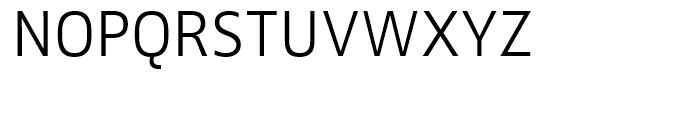 FF Zwo Light Font UPPERCASE