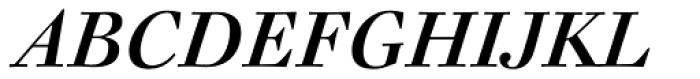 FF Acanthus Text OT Italic Font UPPERCASE