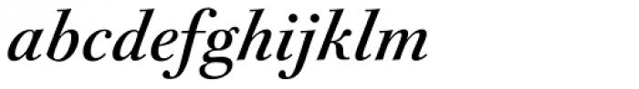 FF Acanthus Text OT Italic Font LOWERCASE
