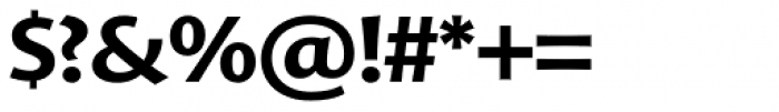 FF Advert OT Bold Font OTHER CHARS