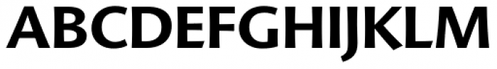 FF Advert OT Bold Font UPPERCASE