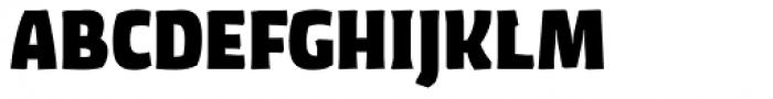 FF Amman Sans Std Extra Bold SC Font UPPERCASE