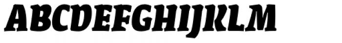 FF Amman Serif Arabic Extra Bold Italic Font UPPERCASE