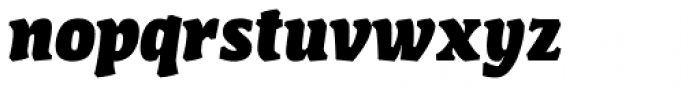 FF Amman Serif Arabic ExtraBold Italic Font LOWERCASE