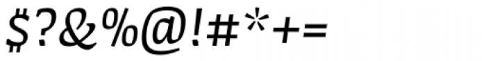 FF Amman Serif Pro Italic Font OTHER CHARS
