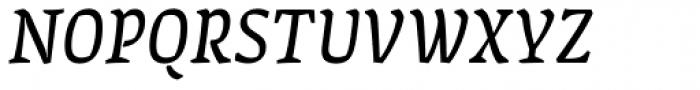 FF Amman Serif Pro Italic Font UPPERCASE