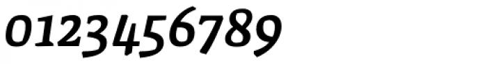 FF Amman Serif Pro Med Italic Font OTHER CHARS