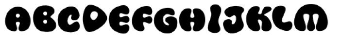 FF Amoeba Bold Font UPPERCASE