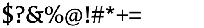FF Angie OT DemiBold Font OTHER CHARS