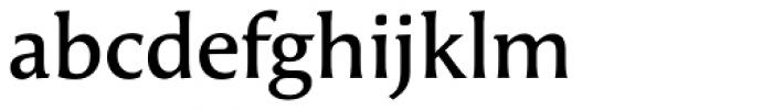 FF Angie OT DemiBold Font LOWERCASE