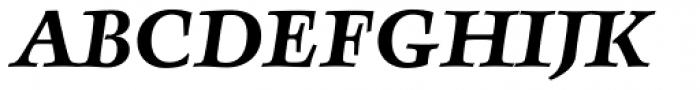 FF Angkoon OT Bold Italic Font UPPERCASE