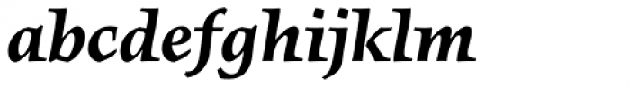 FF Angkoon OT Bold Italic Font LOWERCASE