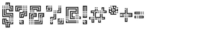 FF Archian Boogie Woogie OT Regular Font OTHER CHARS