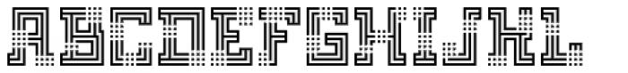 FF Archian Boogie Woogie OT Regular Font UPPERCASE