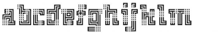 FF Archian Boogie Woogie OT Regular Font LOWERCASE