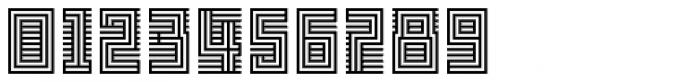 FF Archian Initial OT Regular Font OTHER CHARS