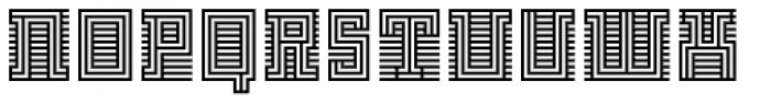 FF Archian Initial OT Regular Font UPPERCASE