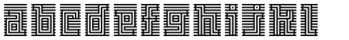 FF Archian Initial OT Regular Font LOWERCASE