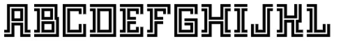 FF Archian Night OT Regular Font UPPERCASE