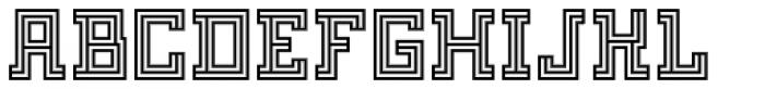 FF Archian Normal OT Regular Font UPPERCASE