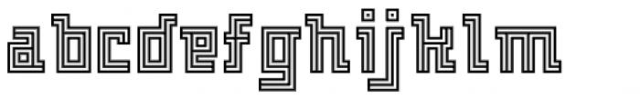 FF Archian Normal OT Regular Font LOWERCASE