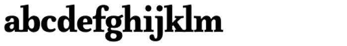 FF Atma Serif Pro Black Font LOWERCASE