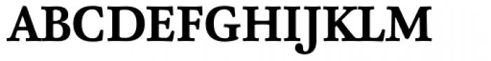 FF Atma Serif Pro Bold Font UPPERCASE