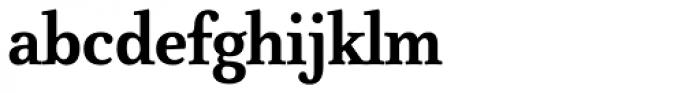 FF Atma Serif Pro Bold Font LOWERCASE