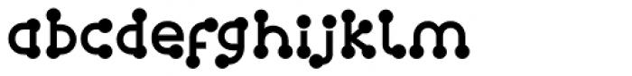 FF Atomium OT Regular Font LOWERCASE