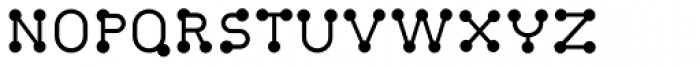 FF Atomium OT Thin Font UPPERCASE