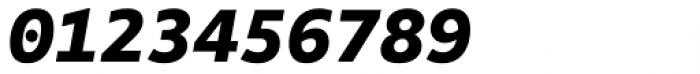 FF Attribute Mono Black Italic Font OTHER CHARS